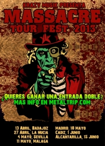 Sorteo Massacre Tour Fest 2013