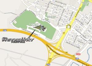 Mapa acceso Metalway
