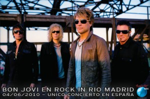 Bon Jovi en Rock In Rio-Madrid