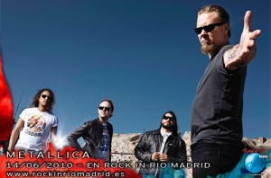 Metallica en el Rock In Rio Madrid