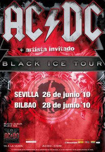 Black Ice Tour 2010