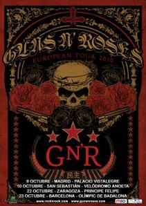 Guns 'N Roses - Gira Española