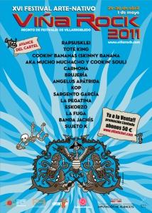 Avance grupos Viña Rock 2011