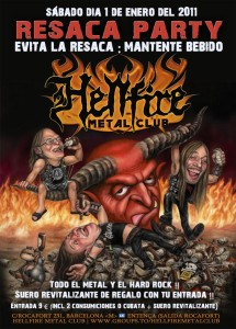Resaca Party en el Hellfire Metal Club