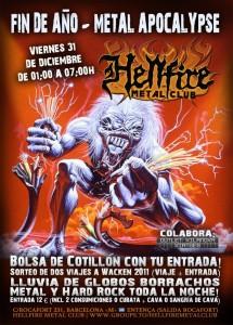 Fiesta 31 Diciembre en el Hellfire Metal Club