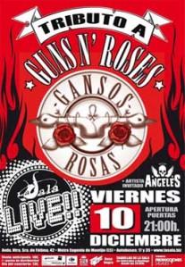 Gansos Rosas + Angeles - Sala Live