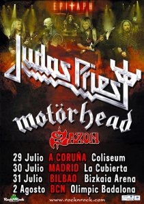 Judas Priest - Epitath Tour 2011