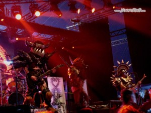 Gwar - Graspop Metal Meeting - 26/06/11