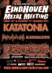 Eindhoven Metal Meeting de 2011