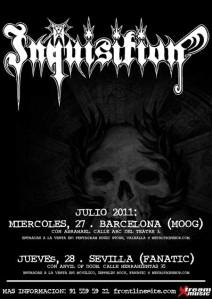Inquisition - Sevilla y Barcelona
