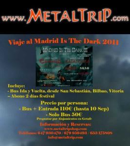 Viaje Organizado al MDF III desde San Sebastián