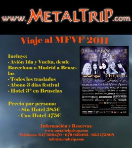 Viaje al Metal Female Voices Fest 2011