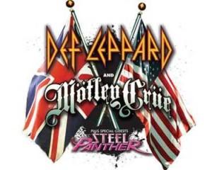 Def Leppard, Motlëy Crüe y Steel Panther