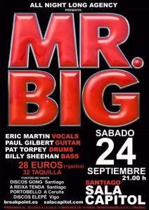 Mr Big - Santiago de Compostela