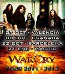 Warcry - Alfa Tour 2011/2012