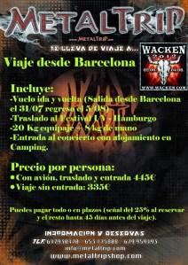 Viaje al Wacken 2012 desde Barcelona