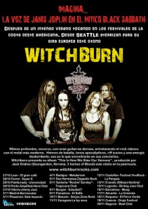Gira de Witchburn