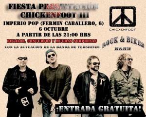 Presentación de Chickenfoot en Madrid