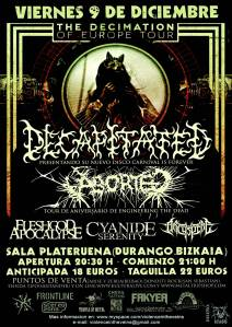 Decapitated + Aborted