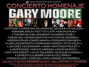 Homenaje Gary Moore