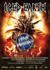 Gira de Iced Earth