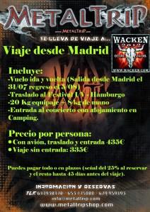 Viaje al Wacken 2012 desde Madrid