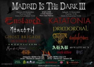 Madrid Is The Dark Fest