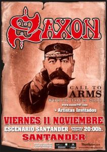 Saxon en Santander