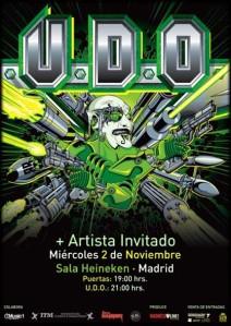 U.D.O. en Madrid
