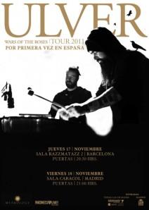 Ulver en Barcelona y Madrid