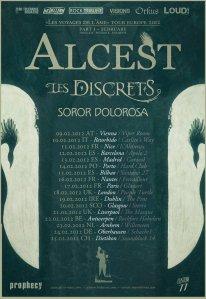 Alcest: Gira 2012