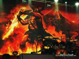 Amon Amarth - Sala Razzmatazz (Barcelona) - 5/11/11