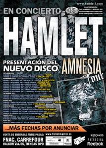 Hamlet - Amnesia Tour