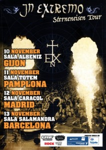 In Extremo: Iberian Tour