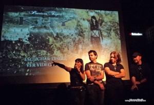 Presentación de Patricia Tapia Khy - Sala Ritmo y Compás - 3/11/11