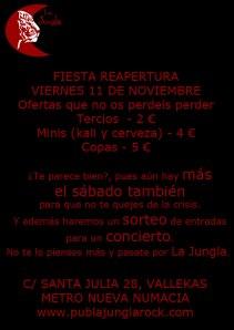 Re apertura del Pub la Jungla de Madrid