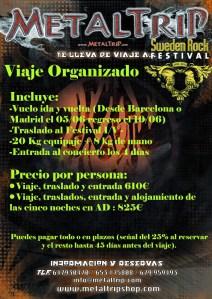 Viaje Organizado al Sweden Rock Festival 2012