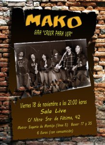 Mako en Madrid