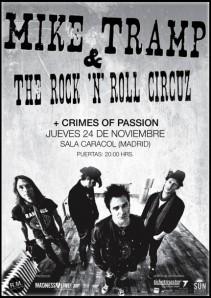 Mike Tramp & The Rock'n' Roll Circuz en Madrid