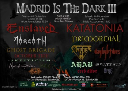 III Madrid Is The Dark Fest