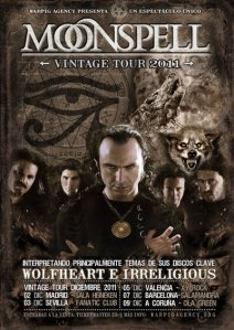 "Moonspell ""Vintage Tour 2011"""