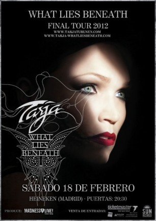 Tarja en Madrid