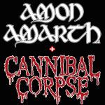 Amon Amarth & Cannibal Corpse
