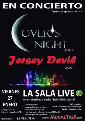 Cover's Night - Sala Live