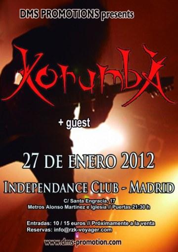 Korumba en Madrid