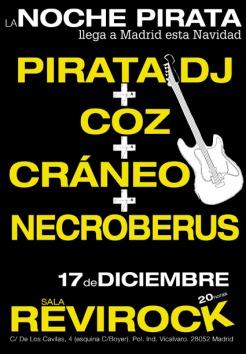 La Noche Pirata en Revirock