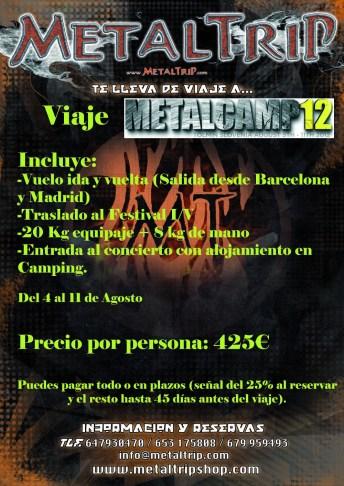 Viaje Organizado al Metalcamp 2012