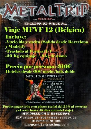 Viaje Organizado al Metal Female Voices Fest 2012