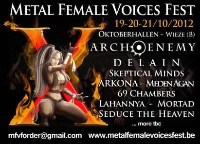 Metal Female Voices Fest 2012