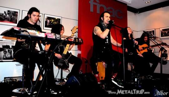 Moonspell - Sala FNAC (A Coruña) -9DEC11
